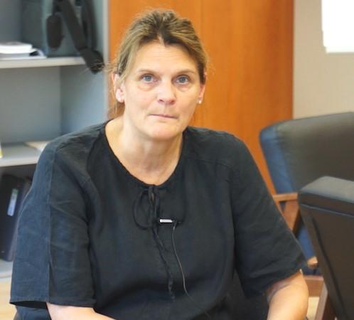 Heike Wiemert, die Inklusionsbeauftragte der KatHO in Köln
