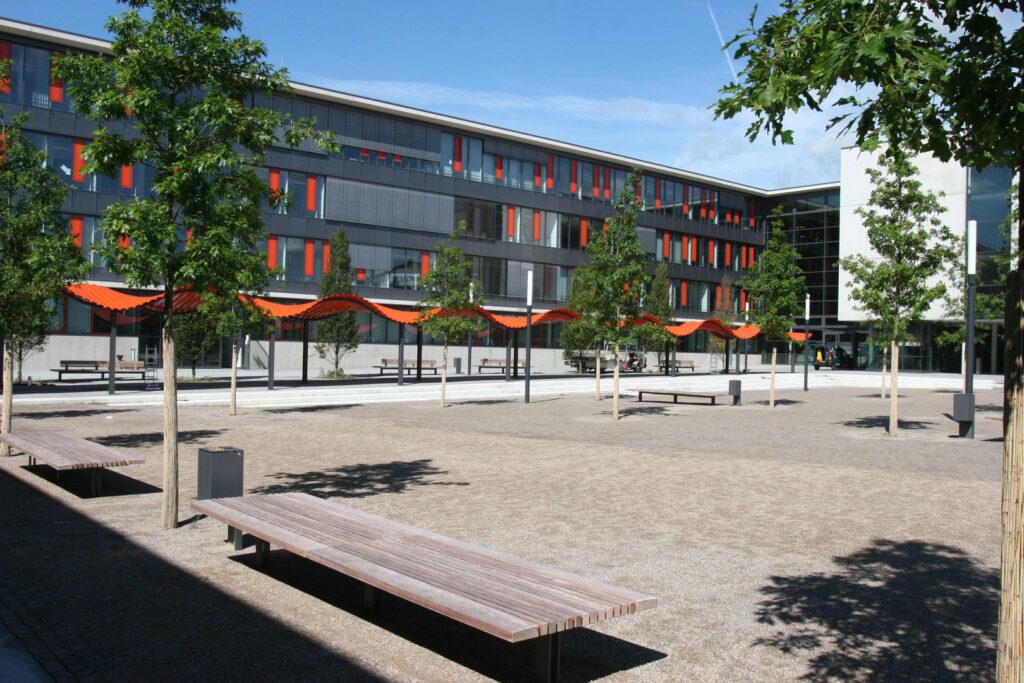 Foto des Campus Gummersbach der TH Köln